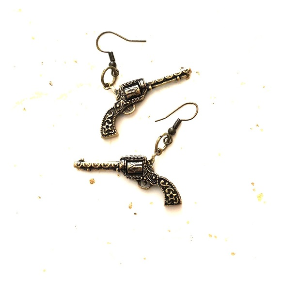 DTF (down to flair) Jewelry - SIXSHOOTER SATURDAY EARRINGS